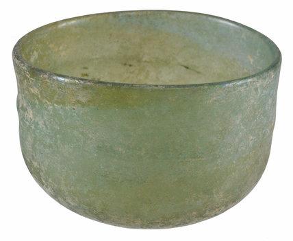 Roman glass bowl
