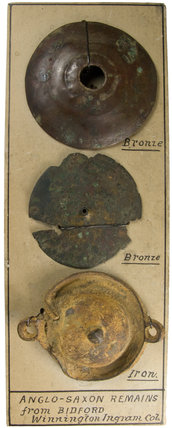Anglo Saxon artefacts from Bidford