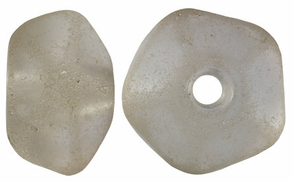 Anglo Saxon quartz spindle whorl