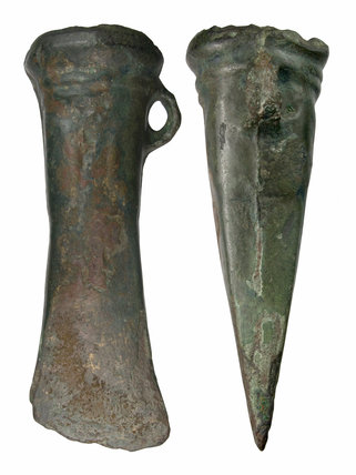 Bronze Age socketed axe