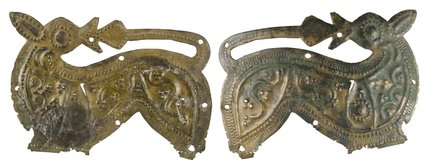 Anglo Saxon beast from bucket