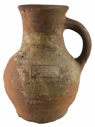 Medieval ceramic jug