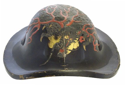 Japanese riding helmet