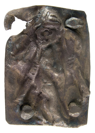 Silver Roman mount of Cupid