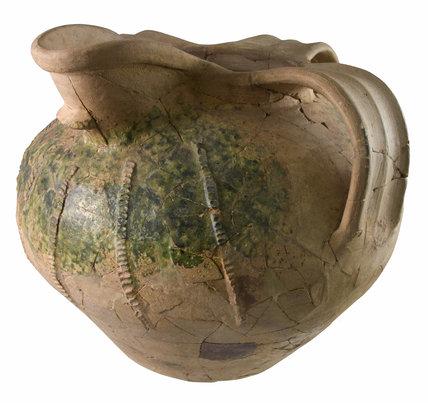 Saintonge ceramic pitcher