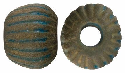 Roman melon bead