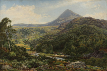 Quiet Valley among the Welsh Hills