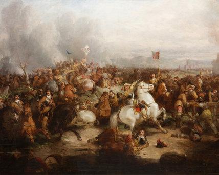 The Battle of Worcester, 3 September 1651