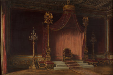 The Throne of Napolean, Palace of Fontainebleau