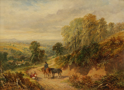 On the Heath at Old Storridge, Worcestershire