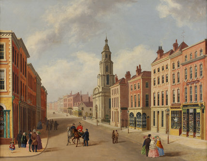 St Nicholas Church and Foregate Street, Worcester