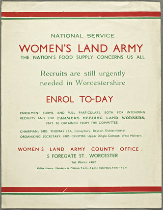 Womens Land Army