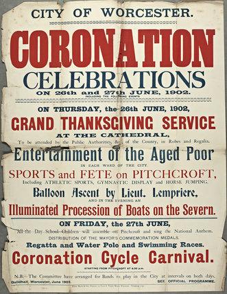 Coronation Celebrations 1902
