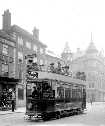 Tram and the Hopmarket Hotel