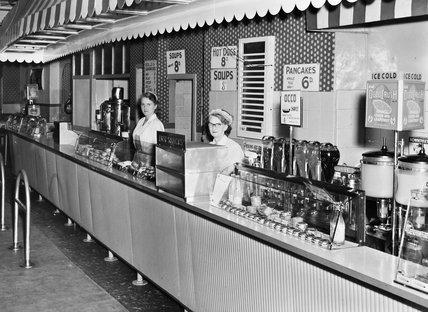 1950s Snack Bar