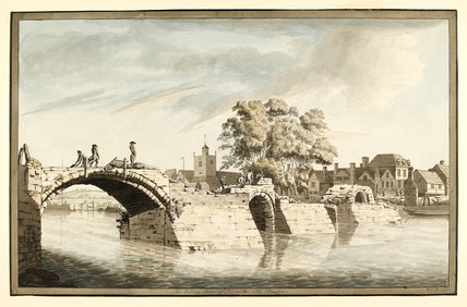 The Taking Down of Worcester Old Bridge