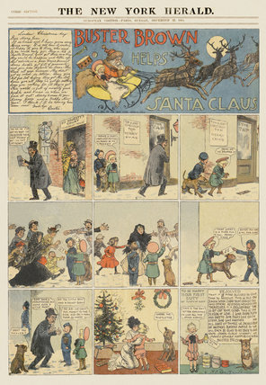 Comic Section, December 25, 1904