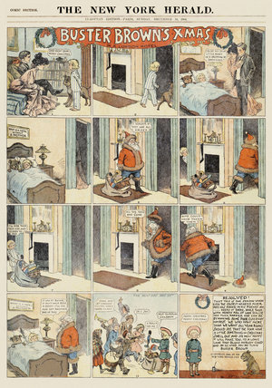 Comic Section, December 18, 1904