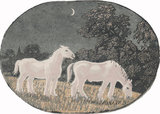 Horses at Night