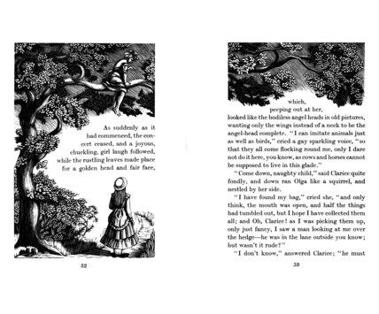 Olga in the Tree 1