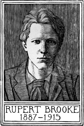 Portrait of Rupert Brooke 2