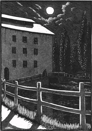 The Mill by Moonlight