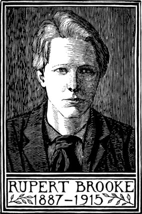 Portrait of Rupert Brooke 1
