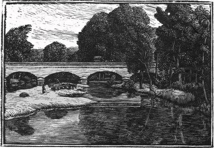 The Bridge at Villeneuve, Loubet