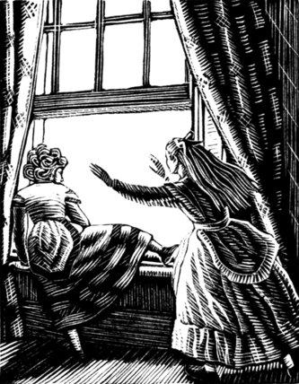 Olga at the Window