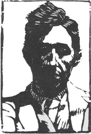 Rough Portrait of Jacques Raverat