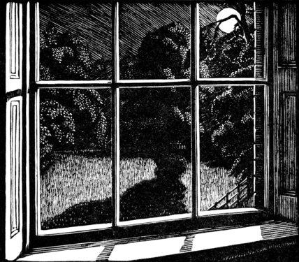 Night Nursery Window