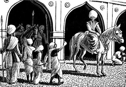 The Slave Girl Denounces the Princess