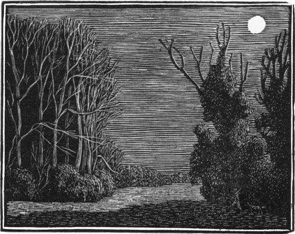 The Poacher, Bookplate of Winifred Cox