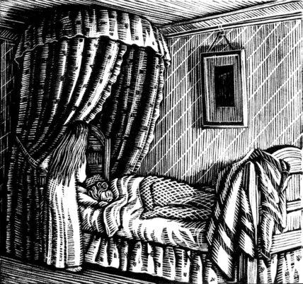 Olga in Bed