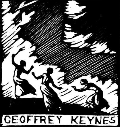 Bookplate for Sir Geoffrey Keynes