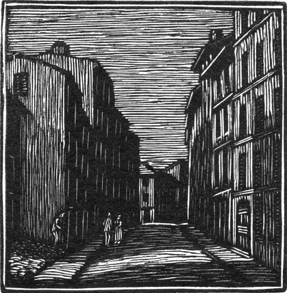 Street by Moonlight, Vence 2