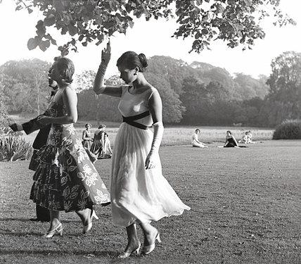 Ladies strolling