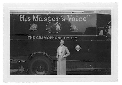 HMV recording lorry