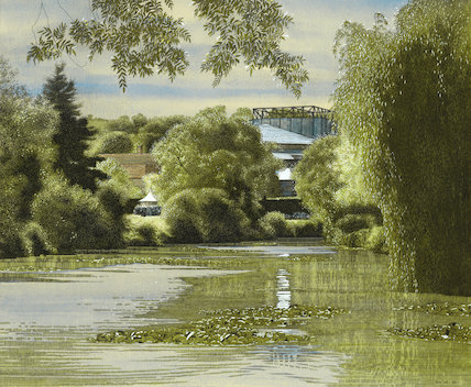 Glyndebourne across the lake