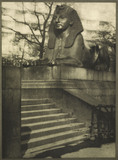 Sphinx statue on the Embankment: 1900-1909