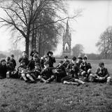 Cub Scouts in Kensington Gardens: c.1954