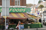 Halal Food shop in Tooting; 2009