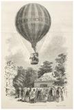 Mr Green's Equestrian Ascent: 1850