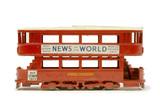 Toy tram car; 1956-1965