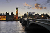 The Houses of Parliament and Big Ben; 2010