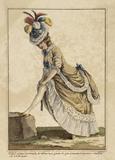Femme en Robe a la Poloniose: 1778