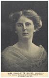 The Suffragette Organiser Charlotte Marsh: 1909