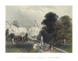 Rosherville Gardens, Gravesend: 1841