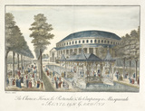 The Chinese House, the Rotunda and the Company in Masquerade: 1754