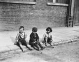 Street urchins, 1893